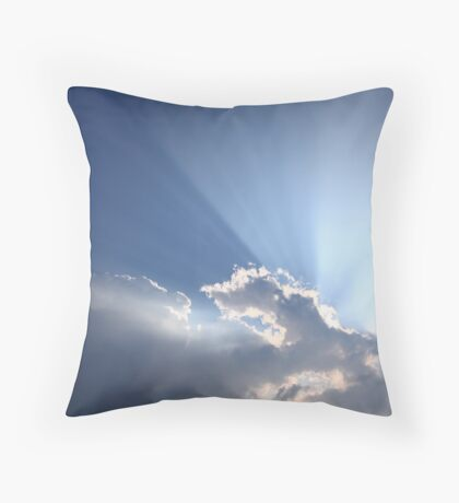 Tyndall Effect II Throw Pillow