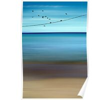 CRETAN SEA & BIRDS II Poster
