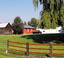 Huntsville Utah ~ Country scene by Jan  Tribe