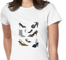 Shoe Tshirt Womens Fitted T-Shirt