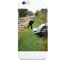 Ditch Lesson iPhone Case/Skin