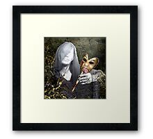 life is a lonely comedy Framed Print