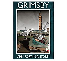 Grimsby - Any Port In A Storm Photographic Print
