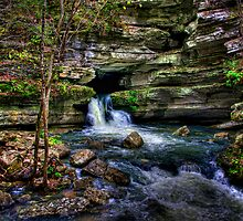 Blanchard Springs Arkansas by kittyrodehorst
