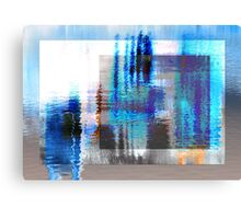 Abstract in layers Canvas Print