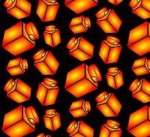 1 x 1 Bricks (AKA Falling Bricks) by Customize My Minifig