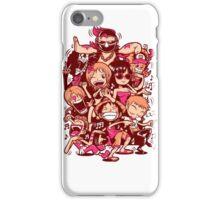 9 Piece Team iPhone Case/Skin