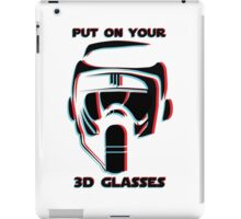 Put on your 3D Scout Glasses iPad Case/Skin