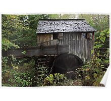 The John Cable Grist Mill Poster