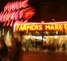 Pike Place Drunk by Ilana Brumble
