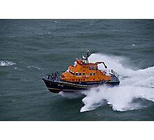 Kirkwall Lifeboat Photographic Print