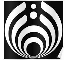 Bassnectar Logo Cover White Edition Poster