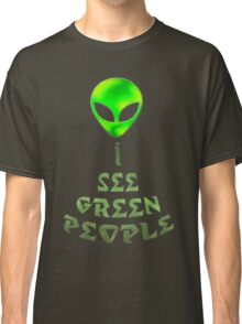 *I See Green People* Classic T-Shirt