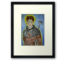 Saint Kentigern Framed Print