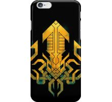 Golden Kraken Sigil iPhone Case/Skin