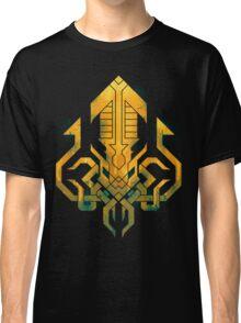 Golden Kraken Sigil Classic T-Shirt