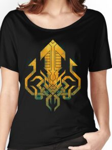 Golden Kraken Sigil Women's Relaxed Fit T-Shirt