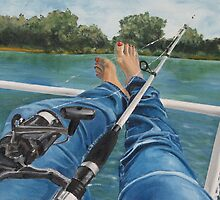 fishing by Rebecca Skeels