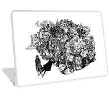 Sherlock World Laptop Skin