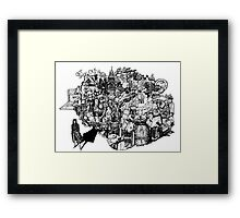 Sherlock World Framed Print