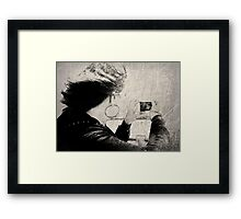 Point-n-Shooting In The Wind Framed Print