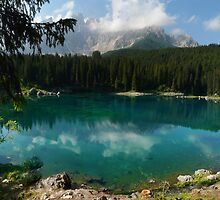 Carezza Lake (Karersee) by pljvv