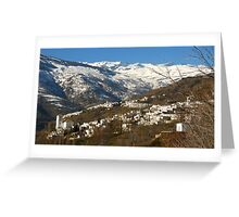 The Alpujarras, Spain Greeting Card