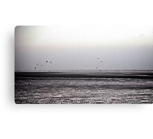 Wind surfing Canvas Print