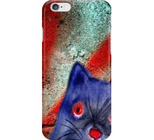 Gordon The Graffiti Cat iPhone Case/Skin