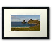 Vesteralen Islands, Norway Framed Print