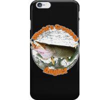 World's greatest angler iPhone Case/Skin