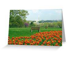 Washington DC - Spring Time Greeting Card