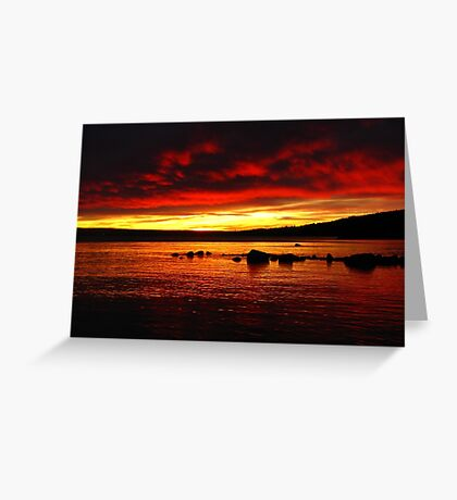 Ostersund, Sweden Greeting Card