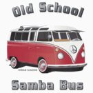 Old School Samba Bus by Frank Schuster