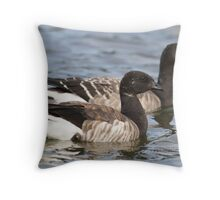 Two Brant Geese Throw Pillow