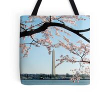 Washington DC - Cherry Blossom Tote Bag