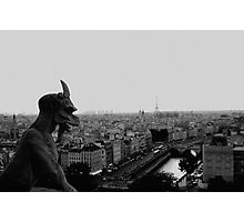The devil is watching over you Photographic Print