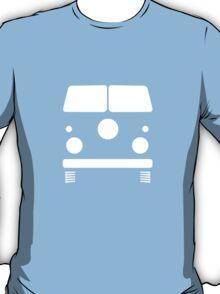 Split Shape VW Front White T-Shirt
