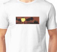 Split VW Bus in Hawaii Unisex T-Shirt