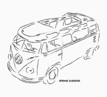Squiggle VW Bus by Frank Schuster