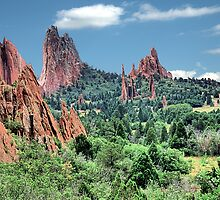Garden of Gods / Pine Spikes by Mark Bolen