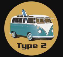 Splitty VW Bus Type 2 by Frank Schuster