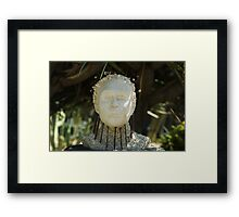 Ahead In The Garden Framed Print