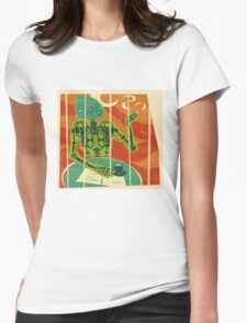 Cyborilla – a retro take on future zoos Womens Fitted T-Shirt