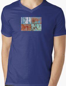 ~ Colors ~ Colours ~ Couleur  - JUSTART ©  Mens V-Neck T-Shirt