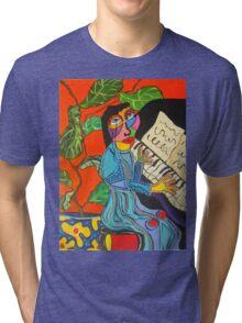 Piano Lady Tri-blend T-Shirt