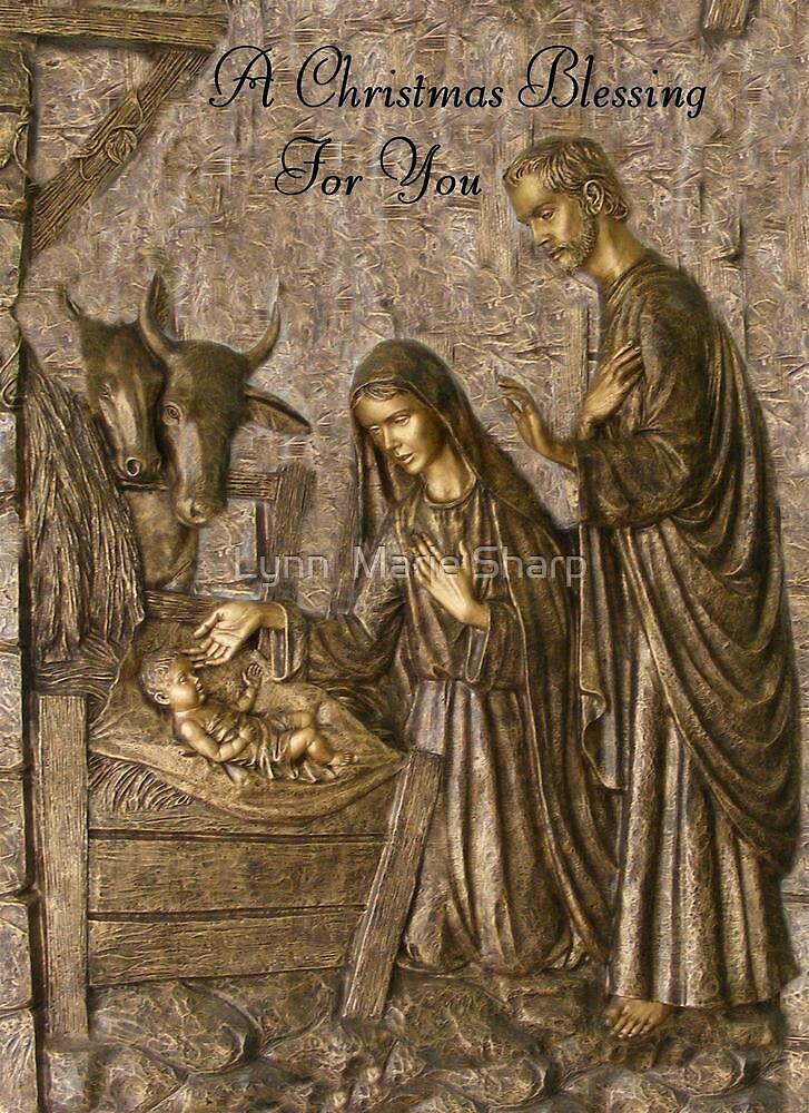 A Christmas Blessing by Marie Sharp