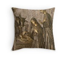 A Christmas Blessing Throw Pillow