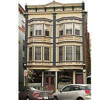 Victorian Dentist Office Building Photographic Print