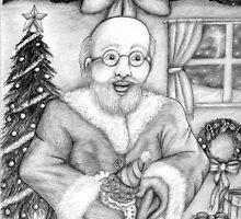 Santa by DarkRubyMoon